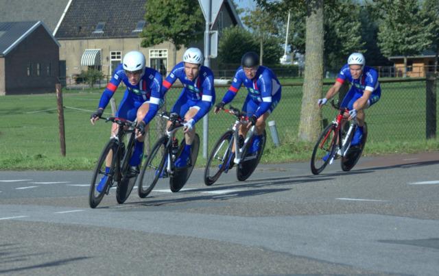 It giet oan: de tiende en laatste ploegentijdrit in Maasdijk