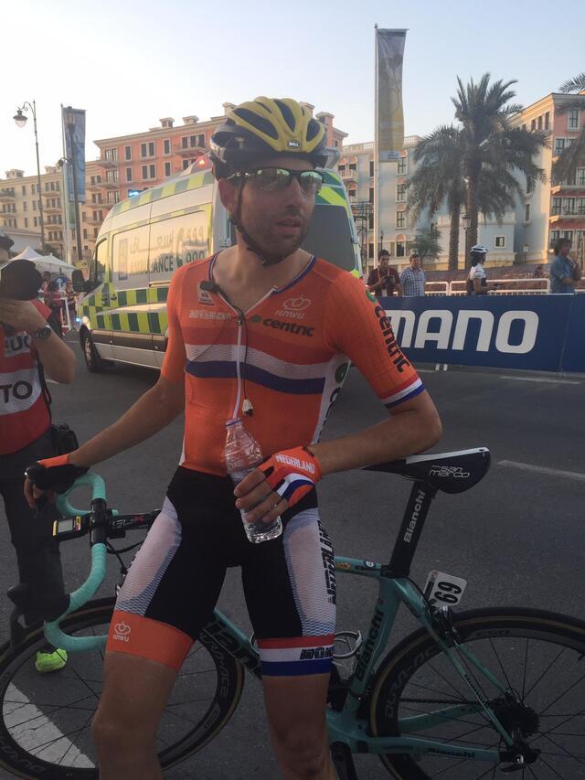 Tom Leezer, de bijna-wereldkampioen wielrennen van 2016